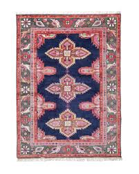 vibrant navy and pink rug winning kismet in persian create