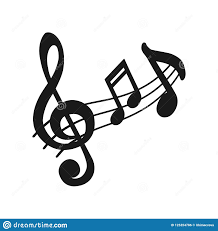 Musical Staff Sign Music Icon Audio Sound Media Musical Design Elements From Music