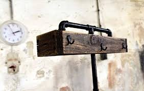 Old Coat Rack Industrial Pallet Standing Coat Rack 84