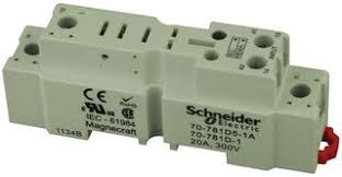 d a schneider electric magnecraft relay socket din schneider electric magnecraft 70 781d5 1a