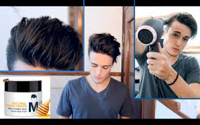 Great Clips Hairstyles For Men Messy Pompadour Mens Hair Tutorial Hairstyle Youtube