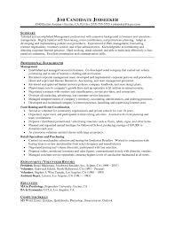 Sample Resume For Promotion Xcellent Resume Examples Resume Examples Promotion Resume Sample 2