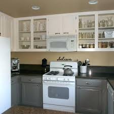 paint laminate kitchen cabinets primer for cabinet painting over before grey best ki