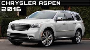 2016 Chrysler Aspen Review Rendered Price Specs Release Date - YouTube