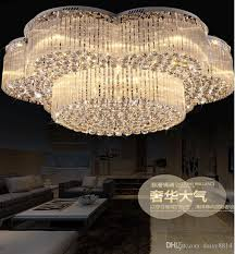 new design flush mount contemporary large chandeliers crystal lights dia100 h420mm modern luxury hotel lobby chandelier lamps hanging chandelier bottle