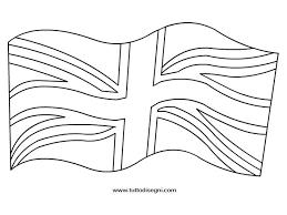 Bandiera Inglese Da Colorare Per Bambini Disegno