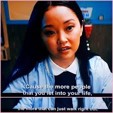 Her as she learns to deal with her past loves face to face, lara jean discovers that something good may come out of these letters after all. To All The Boys I Ve Loved Before Quote Love Is Scary Quotes Scary Quotes Love Is Scary