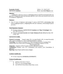 Sap Fico Resume Sample Best of Training Consultant Resume Sample Formidable Sap Fico Resumes Pdfer
