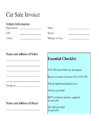 Personal Car Sales Agreement Private Sale Template Contract Sample ...