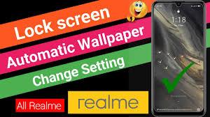 Automatic lock screen wallpaper change ...