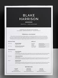 awesome resumes. 50 Awesome resume templates 2016