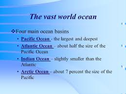 ocean by size the ocean floor chapter ppt video online download