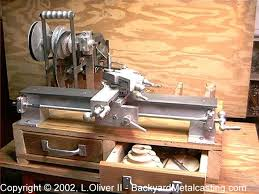 metal lathe projects plans. homemade gingery-style lathe constructed from plans and featuring custom-cast components. metal projects