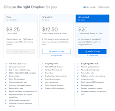 Dropboxs Business Plans Now Cost More And Offer Less Than They Did