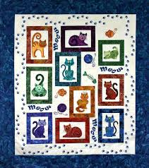 Cat Quilts Patterns – co-nnect.me & ... Quilters Corner Cats Meow Kits Pattern Free Black Cat Quilt Patterns  Cat Quilt Patterns Kits Christmas ... Adamdwight.com
