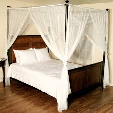 Bed Posts With Curtains | Roole