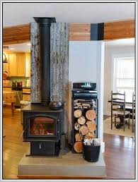 Wood Stove Backsplash New Wood Stove Backsplash Delectable With Image Of Wood Stove Backsplash