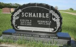 Evelyn V. Anderson Schaible (1929-2008) - Find A Grave Memorial
