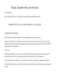 Lead Teacher Resume Resumes For Preschool Teachers Preschool Teacher