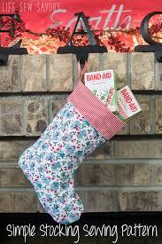 Christmas Stocking Sewing Pattern Stunning Christmas Stocking Sewing Pattern FREE Plus Stocking Suffer Ideas