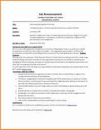 administration job description template job announcement nics administration job description template job announcement nics admin assistant administrative sle description office administrator resume jpg