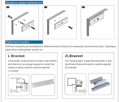 u type bracket for magnetic door lock buy u type bracket u type bracket for magnetic door lock