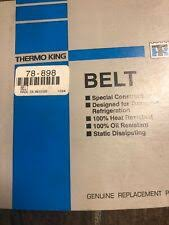 78 1067 Thermo King Belt Ts Xds Sr Oem For Sale Online Ebay