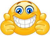 Znalezione obrazy dla zapytania: uśmiechnięta buźka emotikon