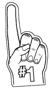 foam finger clipart. description for foam finger clipart black 650 x 1147 m