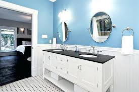 blue and white master bath traditional bathroom victorian tiles