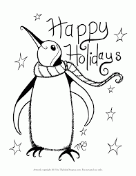 Free Holiday Coloring Pages Free Coloring Pages
