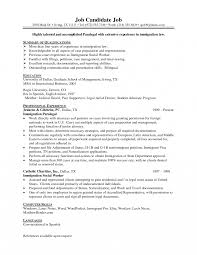 Immigration Paralegal Job Description Resume Very Attractive Immigration Paralegal Job Description Resume Sample 1