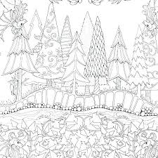 Forest Coloring Pages Printable Download Jokingartcom Forest