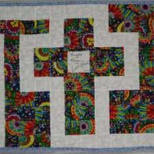 The Cross in the Labyrinth Quilted Prayer Shawl | aftcra & ... The Cross in the Labyrinth Quilted Prayer Shawl ... Adamdwight.com