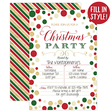 Christmas Inviations Christmas Party Invitation Christmas Party Invite Christmas Party Holiday Party Invitations 20 Fill In Invitations And Envelopes