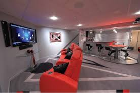 Delighful Basement Ideas For Teenagers Home Designs And Decor Intended Beautiful