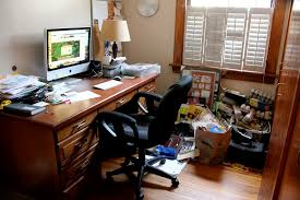 my home office. The Desk Top Became A Clutter Collector As I Was Not Sitting At It To Write Anymore. Before, Would Always Clear Desktop So Could Actually Breath My Home Office