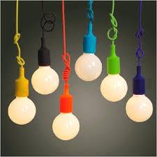 ceiling lights colorful ceiling light pendant lamp modern vintage bulb bar restaurant cafe bedroom art