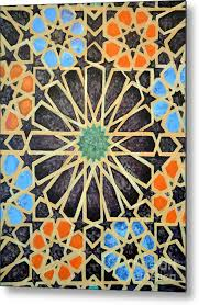 Medieval Patterns Cool Medieval Patterns Metal Print By Arash Kameli