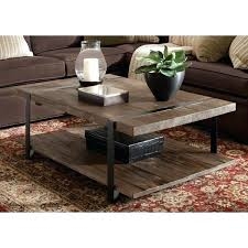 large coffee table carbon loft natural finished reclaimed wood square dimensions