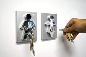 Human Kinky Key Holder
