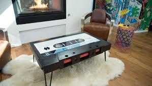 USF grad rewinds time with <b>retro</b>-<b>style coffee table</b>