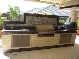 Outdoor Kitchen Bbqs Modern Regarding Kitchen