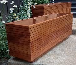 planters extraordinary oblong planter boxes rectangular