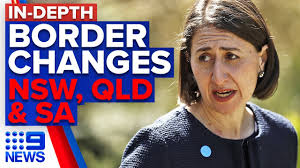 One of seven new infections in nsw was a male in his 20s from melbourne, who had towed his caravan up from victoria on july 7. Coronavirus Nsw Qld And Sa Border Restrictions Set To Change 9 News Australia Youtube
