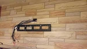 hang tv on brick wall full size of minimum distance between fireplace and mounting on outside hang tv on brick wall interior mounting