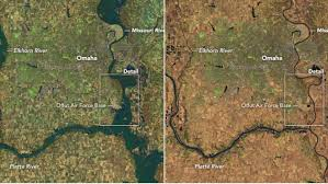Image result for nebraska flooding map