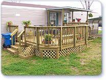 mobile home deck designs. mobile home deck designs | . we also offer affordable financing with low