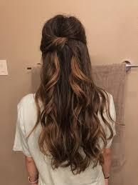 hairstyles half up down promwedding hair style wedding other in 2018 and with hairstyles outstanding