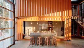 Wonderful Interior Pictures Of Shipping Container Homes Images Design Ideas
